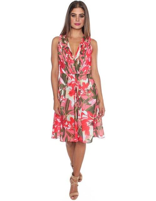 05f3474720 Vestido Rimini con diseño floral casual
