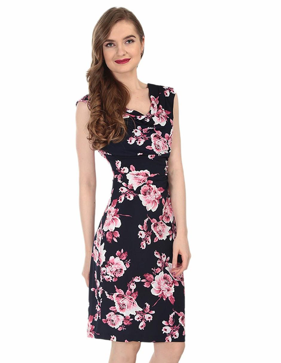 Casual Connected Vestido Apparel Con Floral Diseño rhQCtsd
